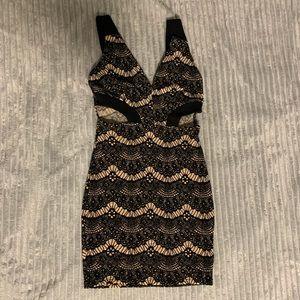 Mini Dress with Cutout